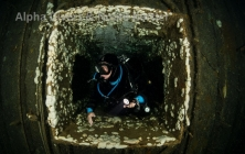 <h5>Lift shaft</h5><p>Exiting the life shaft on the Zenobia</p>