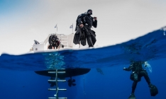 <h5>Walk on By</h5><p>Entering from the Kaslypso II to dive on the Zenobia Wreck</p>