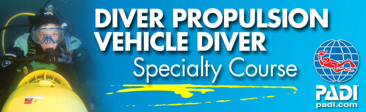 Diver Propulsion Vehicle specialty Alpha Divers Larnaca Cyprus