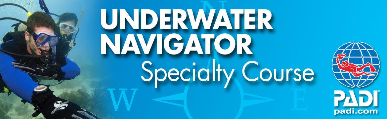 Underwater navigator specialty Alpha Divers Larnaca Cyprus
