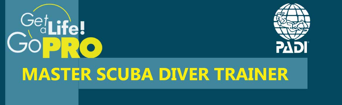 Become Master Scuba Diver Trainer with Alpha Divers