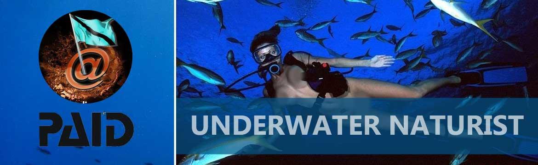 Naturist Funky Fun specialty Alpha Divers Larnaca Cyprus
