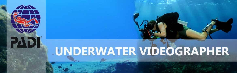 Underwater videographer specialty Alpha Divers Larnaca Cyprus