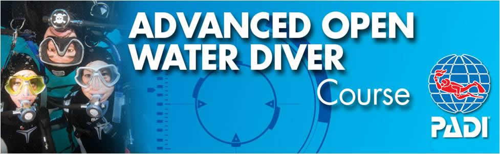Advanced OPEN Water Diver Course with Alpha Divers