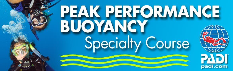Peak Performance Buoyancy specialty Alpha Divers Larnaca Cyprus
