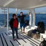 Dive group on Kalypso2 AlphaDivers with Nic Nac