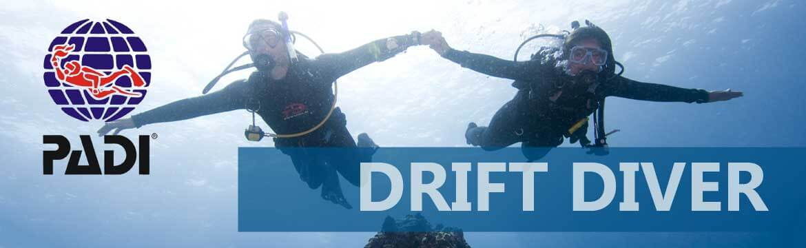 Drift Diver specialty Alpha Divers Larnaca Cyprus