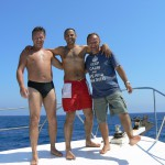 Guests on Kalypso 2 Alpha Divers Chris Martin