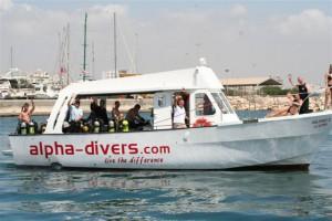Kalypso II with students on board, hello
