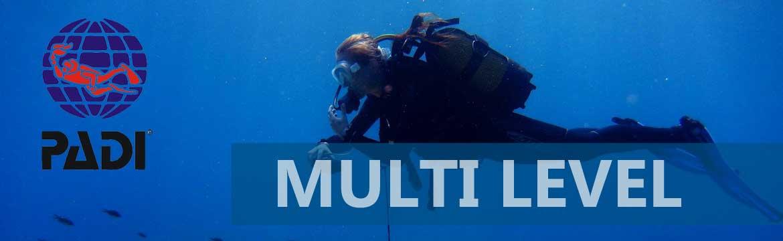 Multilevel specialty Alpha Divers Larnaca Cyprus