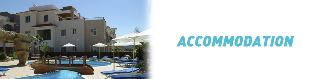 Alpha Divers accommodation while in Cyprus and scuba diving