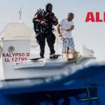 Dedicated dive boat the Kalypso II