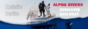 Dedicated dive boat the Kalypso II