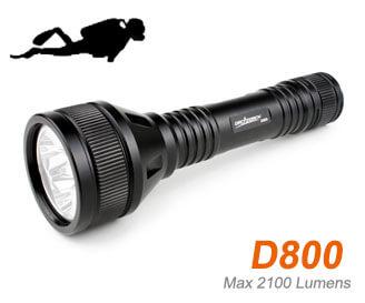 Orca D800 torch