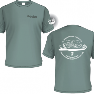The zenobia wreck specialists tshirt