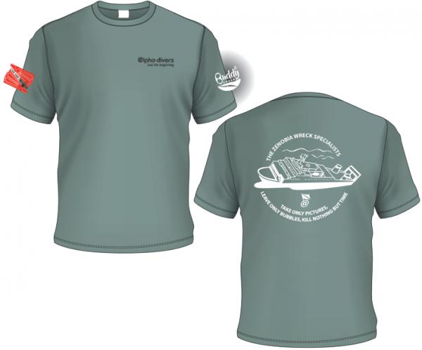 The zenobia wreck specialists tshirt