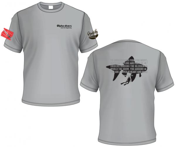 Jacques fish t-shirt